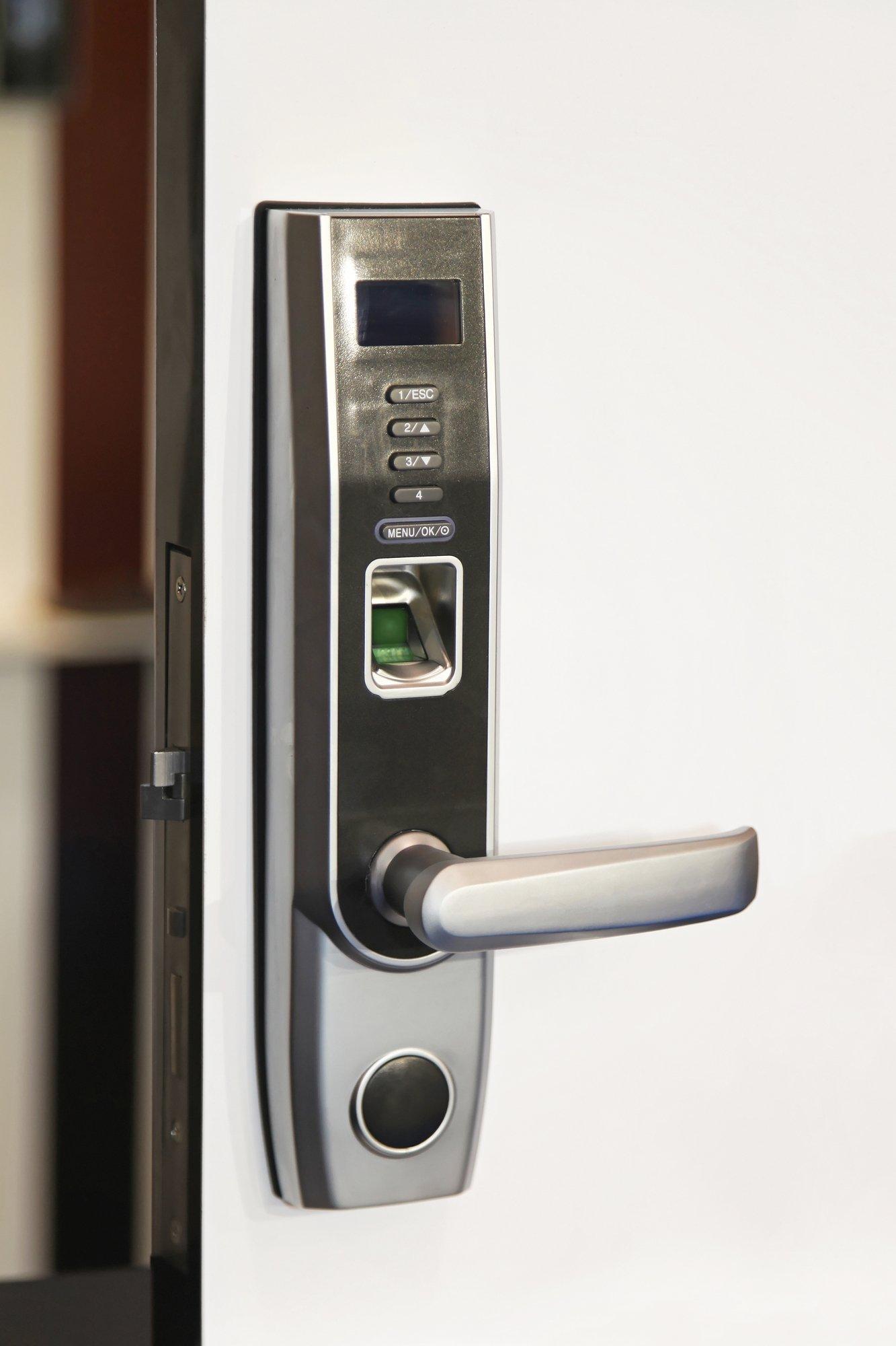 Fingertip lock