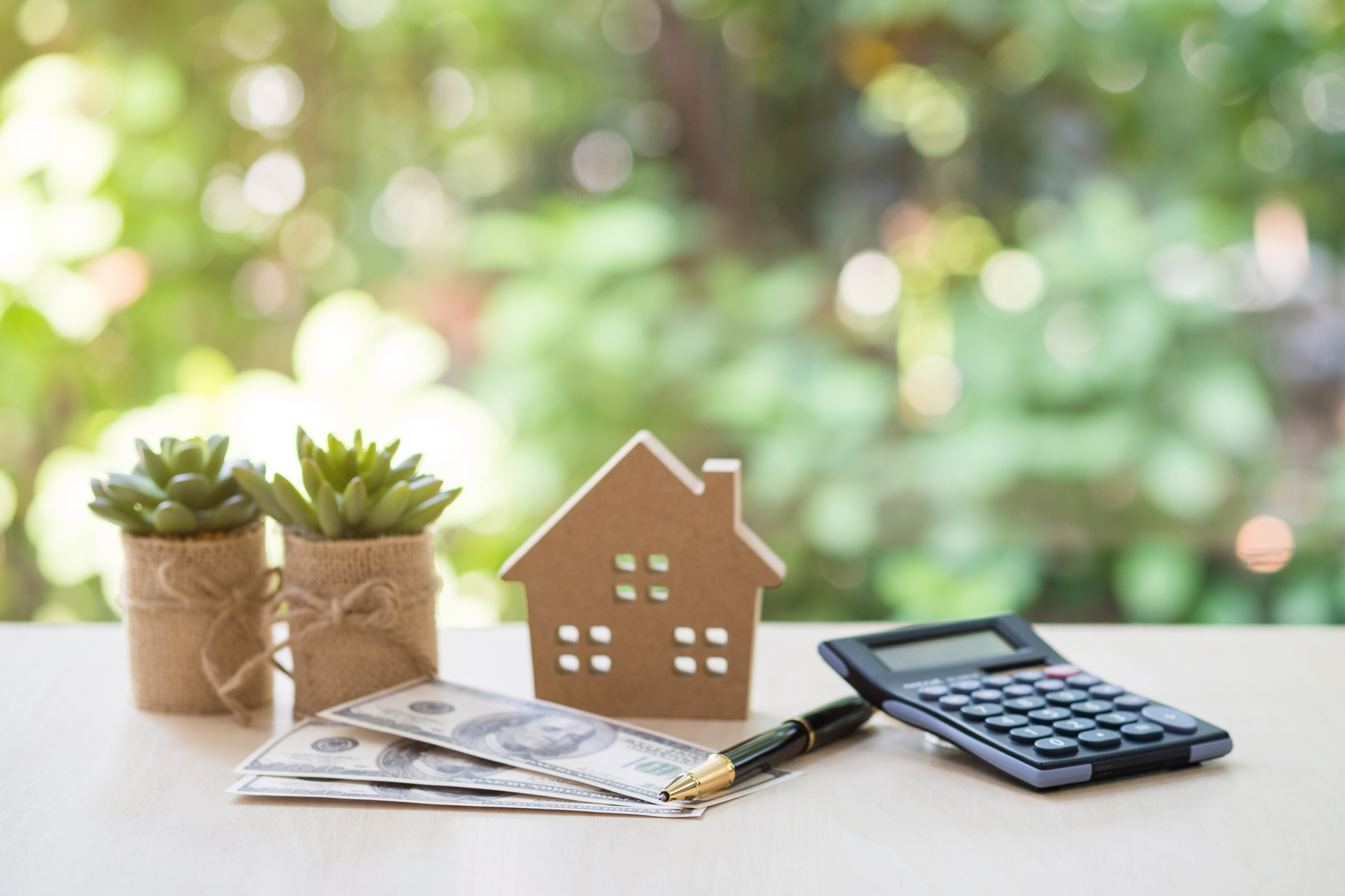 Home Loan, mortgage and real estate concept