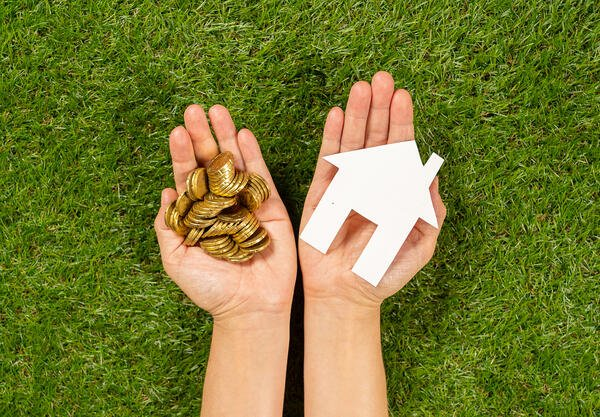Property investment Real estate Saving and buying home mortgage and loan banking