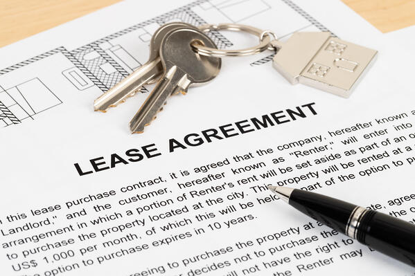 Rental Agreement Paperwork Document Concept