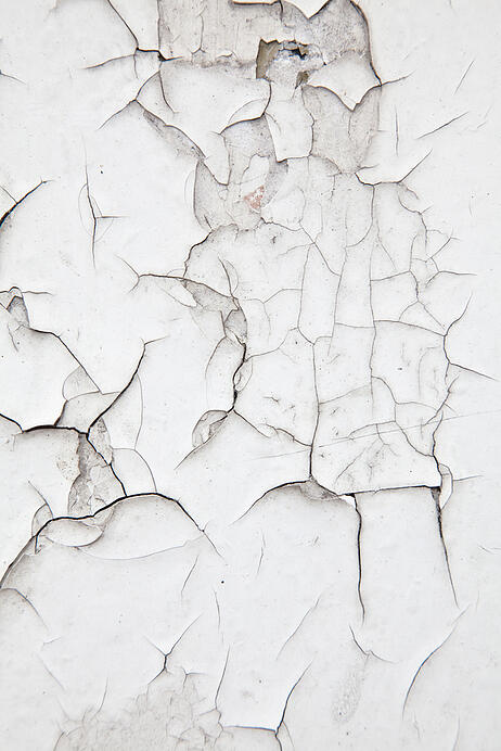 Old white cracked wall background