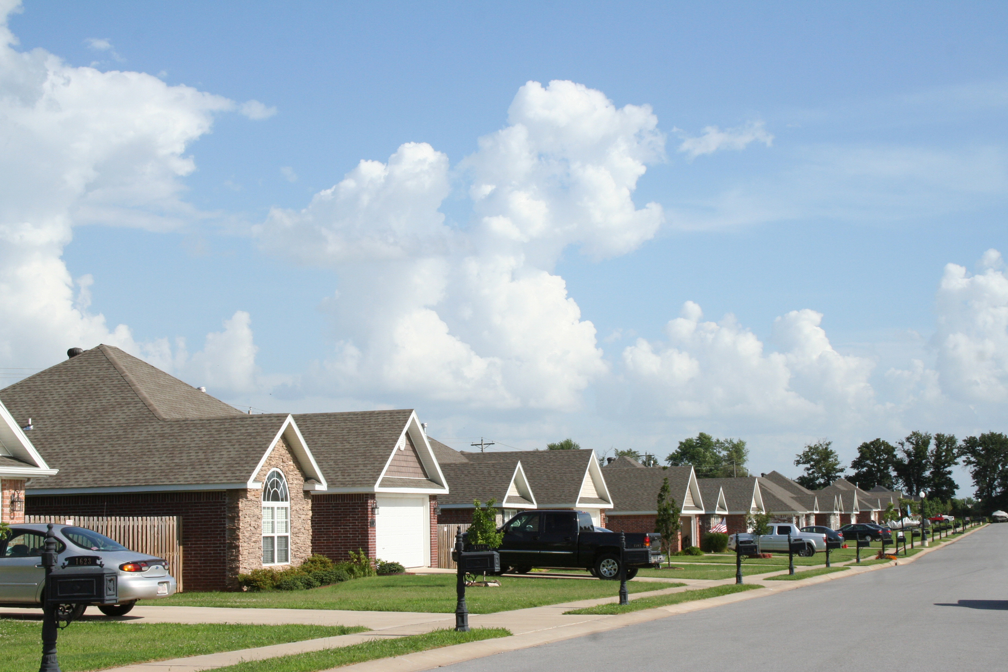 The Neighborhood - Subdivision of fairly new homes